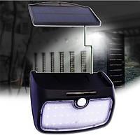 Съемный 28 LED Солнечная Мощность Датчик Настенный светильник Водонепроницаемы На открытом воздухе Двор Сад Лампа