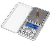 Ювелирные цифровые высокоточные весы с пределом взвешивания 500 грамм Pocket Scale MH 500 с дискретностью 0.1