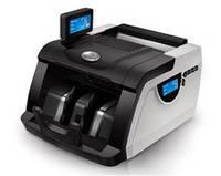 Аппарат для автоматического пересчета купюр с уф детектором Gr-6200. Счетная машинка для банкнот