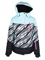 Куртка лижна жіноча Just Play Zebra (B2319-blue) - S