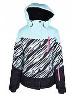Куртка лижна жіноча Just Play Zebra (B2319-blue) - XL