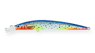 Воблер Strike Pro Top Water Minnow 110 плавающий 11см 10.5гр Загл. 0,2м - 0,7м скидка%