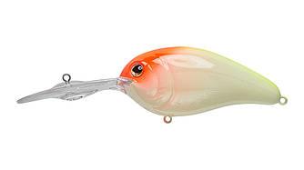 Воблер Strike Pro Wormouth Wobbler 62 плавающий 6,2cм 11,6гр Загл. 2,5-4,5м Fluo