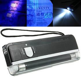 2 в 1 Портативный ультрафиолетовый ручной карманный детектор денег 1TopShop