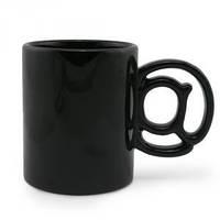 Чашка Соб@чк@ черная