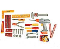 Набор инструментов 2083 ключи, дрель, отвертки, в рюкзаке 31*7*40см