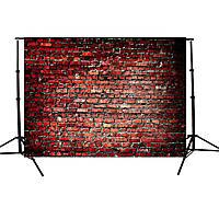 7x5FT Винил красного кирпича стены Фото Фон Фон для студии реквизита