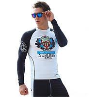 Мужчины водолазный костюм Топы с длинным рукавом Купальники водонепроницаемый быстросохнущие Одежда Серфинг снорка