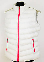 Жіноча жилетка Qifeng білий (G7060A-white) - XXXL