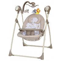 Кресло-качалка Baby Mix SW102RC +мобиль и пульт beige