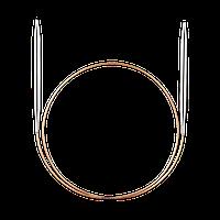 Адди 3,50 спицы круговые на золотой леске 60 см
