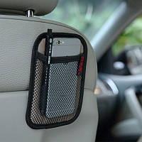 Универсальная Авто Сетка для хранения сидений Органайзер Сетка Доставка Чистая сумка для ноутбука Крюк для iPhone Смартфон