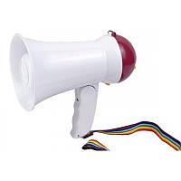 Ручной мегафон рупор HW-1R