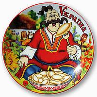 Тарелка декоративная керамическая, фото 1