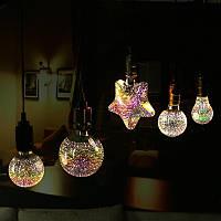 ARILUX® E27 5W SMD2835 LED теплый белый 3D Декоративные Эдисон Свет лампы партии праздника лампы AC85-265V
