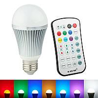 ARILUX® E27 9W Изменение цвета LED Глянцевая лампа с 2.4G Беспроводная связь Дистанционный Контроллер AC85-265V