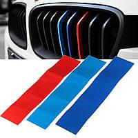 25см M Тип Гриль Авто Виниловый стикер для винила для BMW Grill