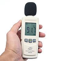 LCD Уровень звукового давления Децибел Тестер шума Измерение 30 ~ 130 дБ