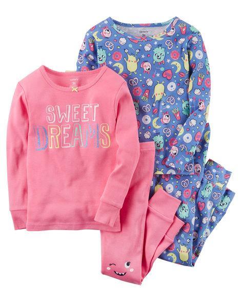 Пижама для девочки Carter's(Картерс)