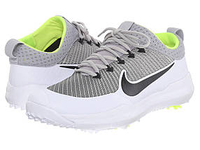 Кроссовки/Кеды (Оригинал) Nike Golf FI Premiere Metallic Silver/Black/White/Volt