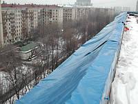 Тарпаулин строительные накрытия от дождя, строительные пленки, кровельные тенты, навесы, пологи