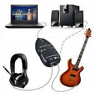 Гитара для интерфейса USB Link Audio Провод 6.5mm Мужской стереофонический адаптер для наушников