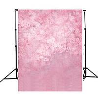 5x7ft Розовый Цветочная виниловая фотография Фоновая стена Фото фоны Студийные реквизиты