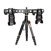 Удлинить плиты с двойной головкой Универсальный штатив монопод Quick Release Plate Mini Slide для Canon Nikon
