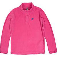 Кофта флісова 4F дівчатам рожева (T4Z16-JBIUP001) - 152