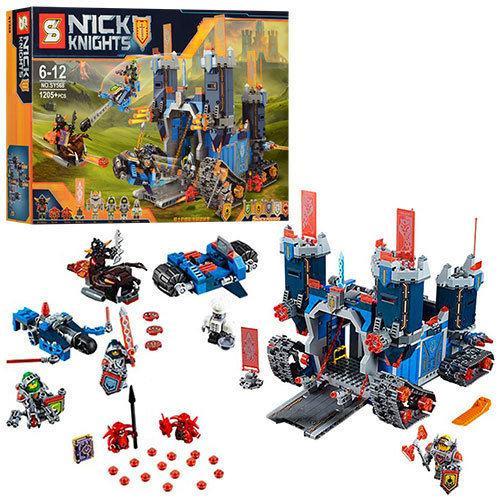 Конструктор SY568 Nexo Knights Мобильная крепость Фортрекс 1205 дет