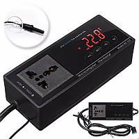220 Цифровой термостат Розетка терморегулятор для рептилий аквариуме бак