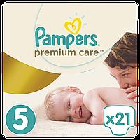 Подгузники (підгузники) Pampers Premium Care Размер 5 (Junior) 11-18 кг, 21 подгузник