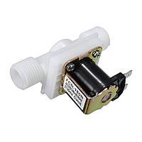 220V 1 / 2inch N / C Нормально замкнутый Электрический электромагнитный клапан воды Воздухозабора Реле потока