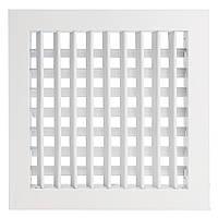 Алюминиевый сплав Двойной жалюзи Воздушный выход Вентиляционная решетка Регулируемая решетка отклонения