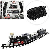 ЖД YY-097  138-87см,локомотив-свет,звук, вагон 2шт,15дет,на бат-ке,в кор-ке,50-36-8,5см