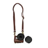 Портативный кожаный чехол Обложка сумка для действий камеры Gopro Hero 4 Silver с Kit 40,5 УФ объектива