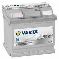 Автомобільний акумулятор Varta 6СТ-54 SILVER dynamic (C30)