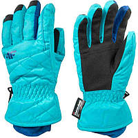 Лижні рукавиці 4F сині (C4Z16-JRED002-1503) - S