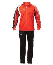 Спортивний костюм Givova Argentina чоловічий чорний/червоний (TR004) - XL