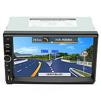 7-дюймовый сенсорный экран 2 Din автомобиля 1080P Радио FM Auto AUX / AUX / SD / MP5 Bluetooth и камеры