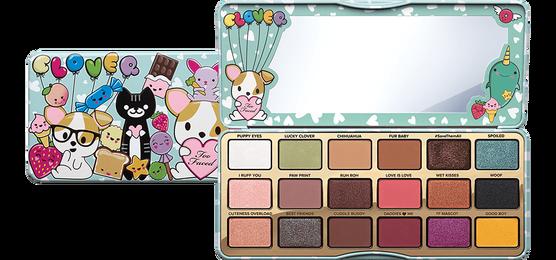 Обратите внимание на палетку теней для век Too Faced Clover Eye Shadow Palette