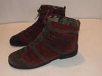 Camel Active_Германия замша качественные ботинки унисекс ст.26,5см H43