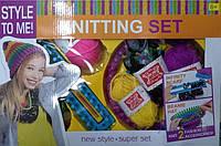 Игра Same Toy Набор для творчества Same Toy Style to me Круговая вязальная машина 553-9Ut