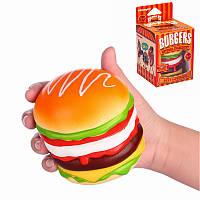 Vlampo Squishy Burger Гамбургер Медленное Восходящая оригинальной коробке Упаковка хлеба Коллекция игрушек Декор подарок