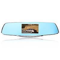 F2C Двойной Объектив 4,3 дюймов HD 1080P Авто Видеорегистратор Зеркало заднего вида с зеркалом заднего вида камера G-sensor