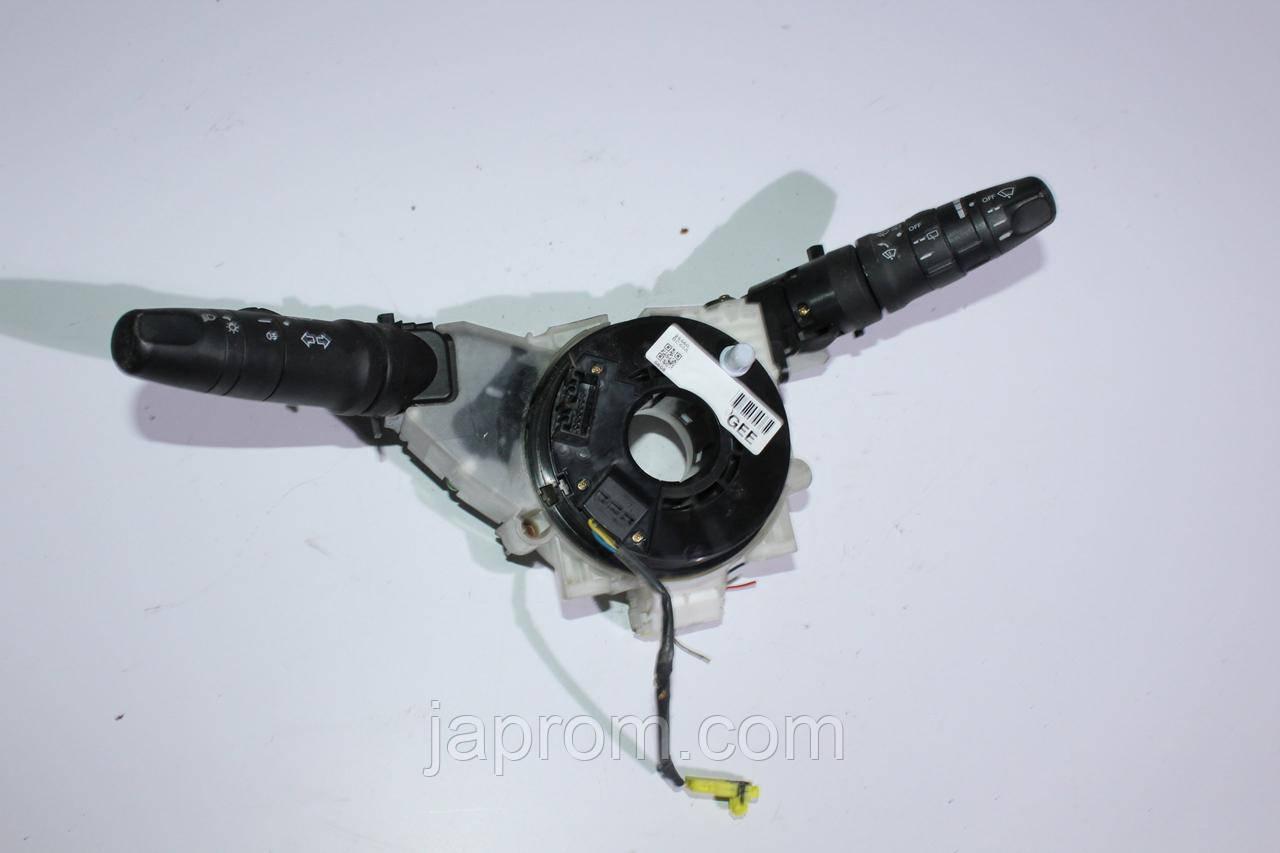 Подрулевой переключатель света фар и двоников Nissan Micra K12
