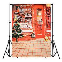 7x5ft Рождественский Магазин Студия Фоновая Фото Реквизит Фото Декор фоны