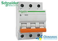 Автоматический выключатель 3р 10А 4,5кА 230/400V Тип С BA63 SCHNEIDER ELECTRIC