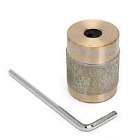 1 дюйм Гель Бит для Витраж Grinder Стандартный Алмазной Copper Grinder с ключевыми