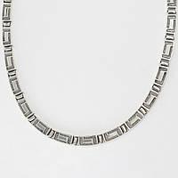 Серебряное колье 4100037